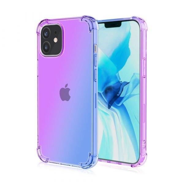 Rainbow Purple Blue iPhone 12
